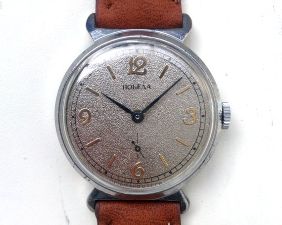 Men's watch, Grey Watch ,classic watch, Russian wa