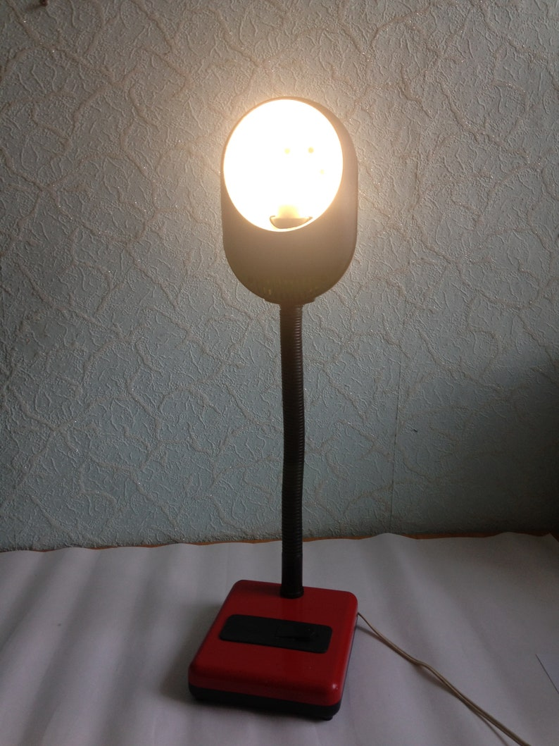 Vintage lamp office lamp desk lamp reading lamp shade lamp   Home Lighting Decor collectible lamp Vintage desk lamp