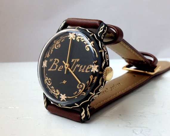 """Engravable watch """"Pobeda"""", Personalized watch ,Sov"""