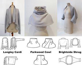 MIY Collection Winter Layering PDF Pattern Bundle