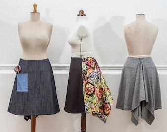 Beginner's Guide to Dressmaking - Fishtail Skirt PDF Pattern