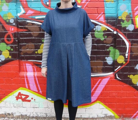 Die Fulwood lose Anzieh Verschiebung Kleid Schnittmuster | Etsy