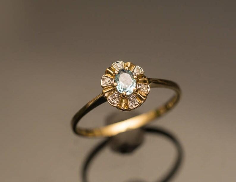 5fc9469c81450 Paraiba Tourmaline Ring Copper Bearing Tourmaline Diamond Ring Paraiba  Tourmaline Engagement Ring Pool Blue Tourmaline Halo Ring Ocean Blue