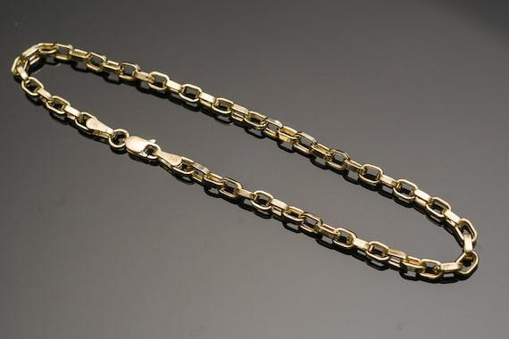 Solid Gold Bracelet Womens Bracelet 14k Yellow Gold Bracelet Etsy