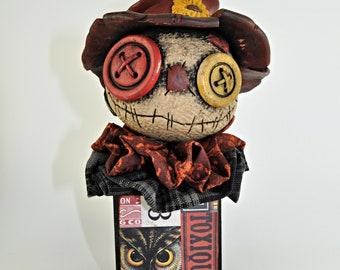 Scarecrow Blockhead 3
