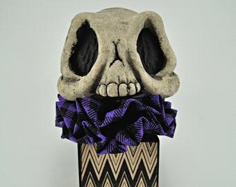 Skelly Blockhead - purple plaid