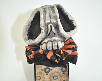 Skelly Blockhead - orange stripe