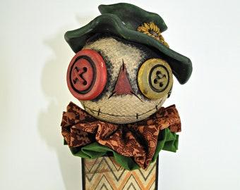 Scarecrow Blockhead 1