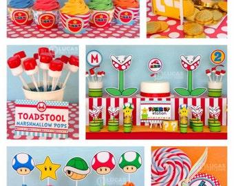 Super Mario Party Etsy