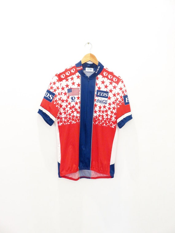 PEARL IZUMI vintage cycling jersey size xl Eds Cocacola  85b60d0ac