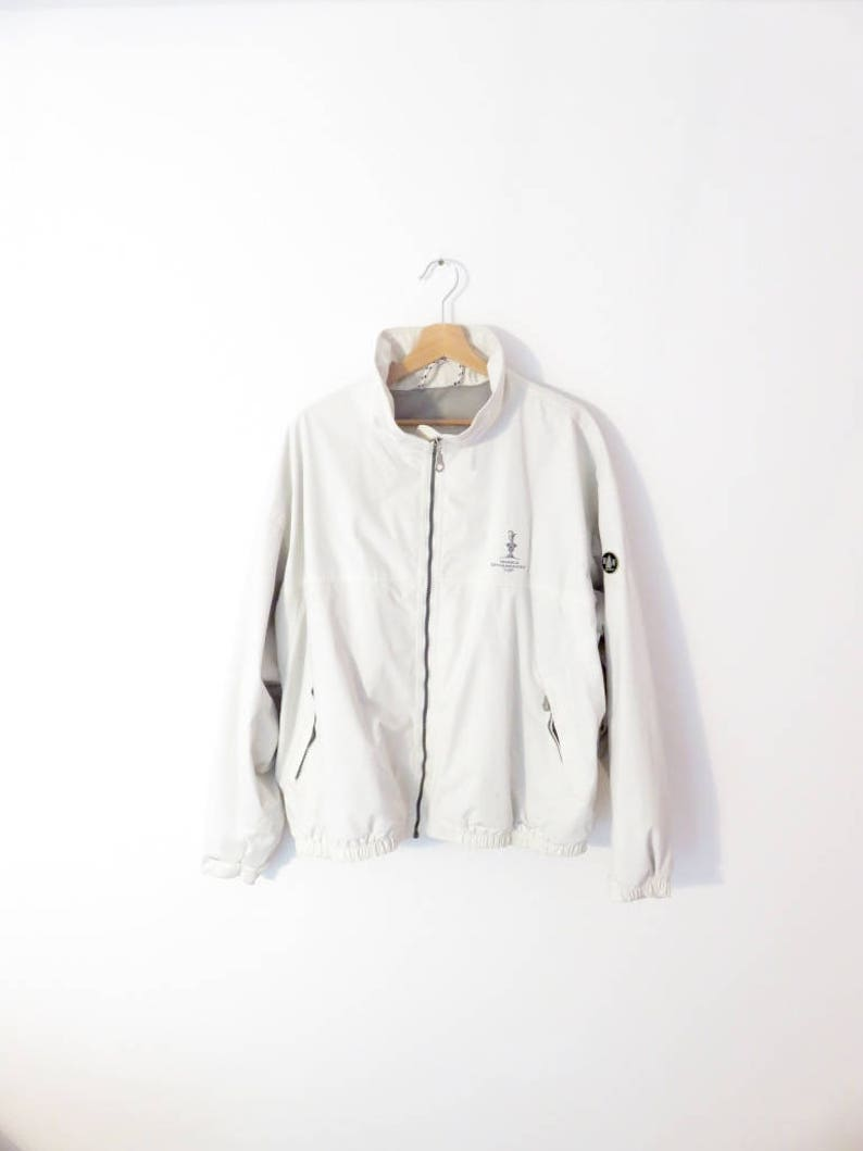 detailed look a2df7 951a9 Murphy & Nye Valencia America's Sailing Cup Team Anorak Wind-stopper Nylon  Jacket, sz. XXL