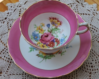 ROSINA Bone China Teacup and Saucer Set