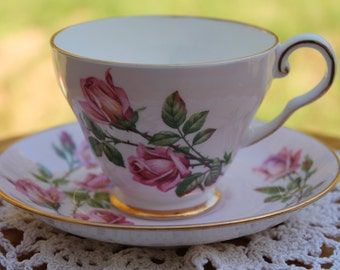 ROYAL GRAFTON Fine Bone China Teacup and Saucer Set