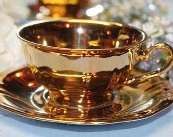 Bavarian Porcelain Teacup and saucer Set
