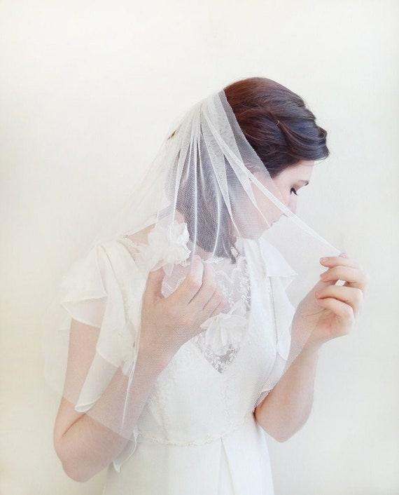 Bruids Sluier Engelse Netto Sluier Engelse Netto Korte Bruids Sluier Engelse Netto Heirloom Sluier Boho Wedding Boho Bruids Stijl 823
