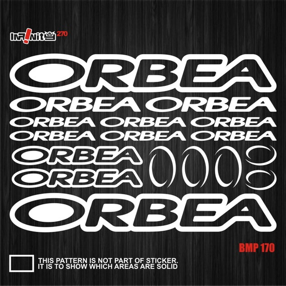 Orbea decals for bike frame Vinyl Sticker Cycle Bicycle mtb road Cycling 21 bmx