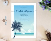 Tropical Beach Bridal Sho...