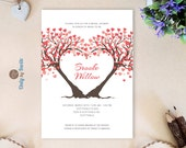 Printed wedding shower in...