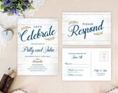 Affordable wedding invita...