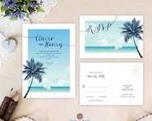 Destination wedding invit...