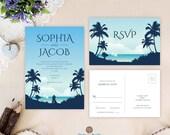 Beach wedding invitations...
