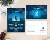Western wedding Invitatio...