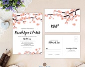 Spring wedding invitation...