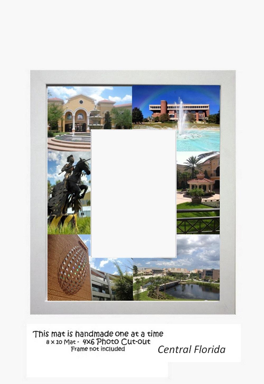 Universität von Central Florida Bilderrahmen Foto-Matte