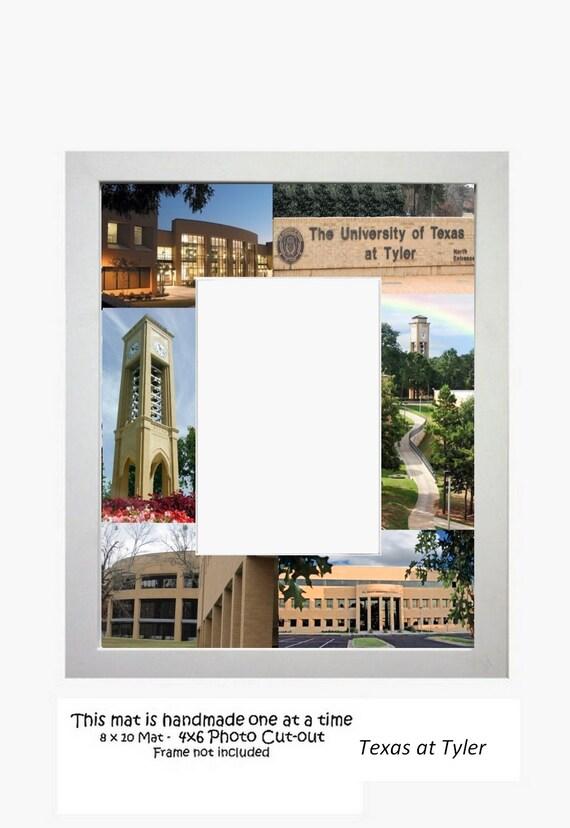 University of Texas Tyler UT Tyler Picture Frame Photo Mat   Etsy