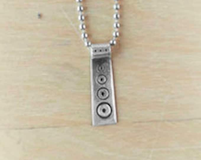 Tribal Trifecta Monolith necklace
