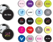 Pilates Pins Exercise Theme (set 2) 20 Pin Back Button Party Favors 1.25 inch Buttons Award pins Teacher Instructor pins magnets buttons