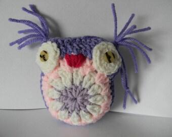 2 - Different Stuffed Owls...