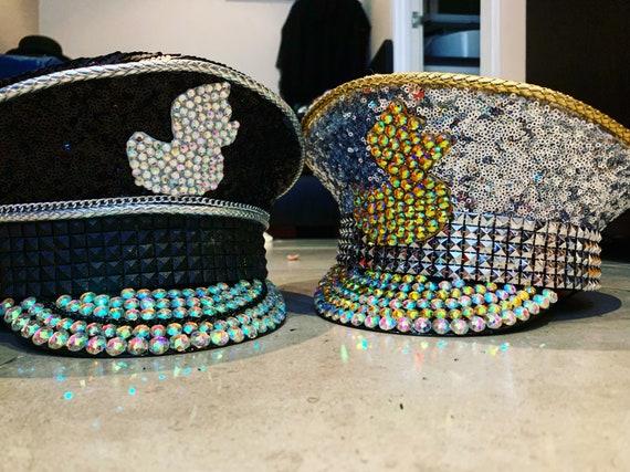 Anatra di cappello cappello capitano cappello di Festival  2a02acdd1d9c