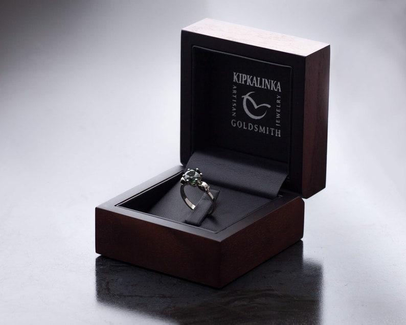 UPGRADE Kipkalinka Wooden Walnut Box Ring Box Boxing-Upgrade image 0