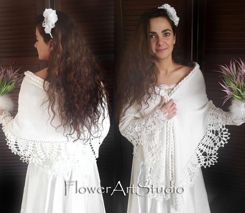 Bridal Cover Up Scarlett Red Wedding Bolero Red Capelet Wedding Wrap Bright Red Bridal Shawl Bridal Cape Crochet Shawl for Bridesmaid