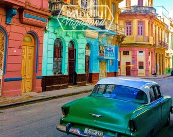 The Pastel Streets of Havana