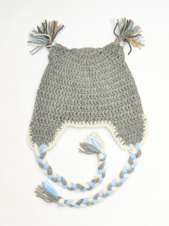 Eule-Hut Kinder-Mütze Eule häkeln Hut Kinder Winter Hut   Etsy