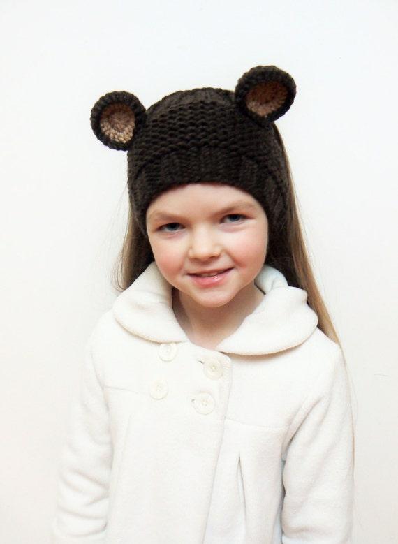 Tejen cinta diadema de osos calentador del oído tener | Etsy