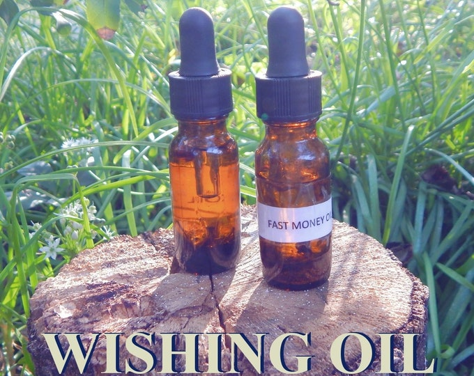 DANDILION WISHES OIL 15ml - Occult wisdom, spiritual mastery, good fortune for candles altar anointing - handmade with essential oils