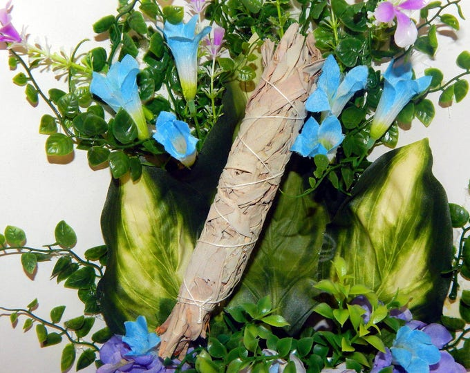 CLEANSING SAGE WAND - High quality handcrafted Sage wand for smudging 7-9 inch - Cleanse your space