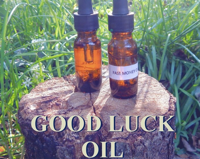 Goddess FORTUNA'S 'Lady of Good fortune' OIL 15ml - Goddess Fortuna oil for candles altar anointing - handmade with essential oils & herbs