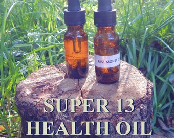 SUPER HEALING OIL 15ml - Health, renewal, vitality for candles altar anointing - handmade with essential oils & herbs