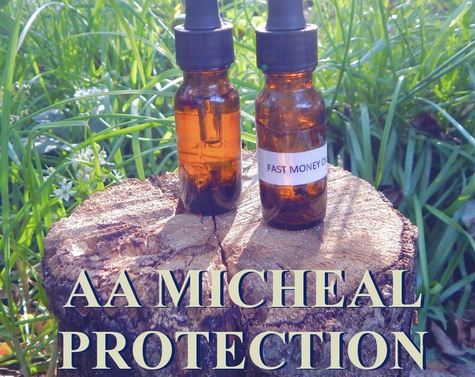ARCHANGEL MICHEAL OIL 15ml - Confidence, protection, neutralize negativity for candles altar anointing - handmade with herbs and essentials