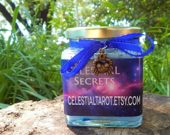ZODIAC SELECTION scented Jar Candle, Ritual, Prayer candle - 100% Hand-crafted with soy wax, herbs and essential oils