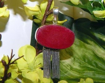 TRIO Angel and baby Dragons inspired vessel - Handcrafted Ruby pendant necklace - Pagan talisman spirit vessel witchcraft