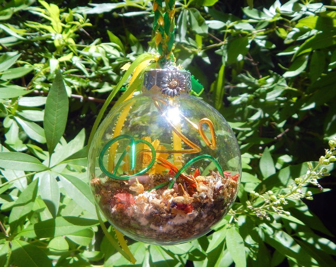 PERSEPHONE'S Witches' ball unbreakable witch orb ABUNDANCE Fertility Prosperity - Goddess Kore Pagan Wiccan Wicca Pentacle