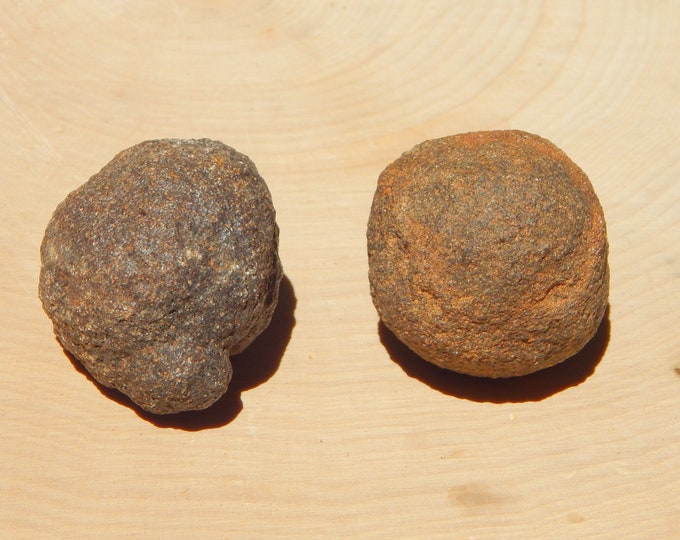 60g Moqui 'Marble' Set Shaman Stones male and female pair - Reiki Wicca Pagan Geology gemstone specimen