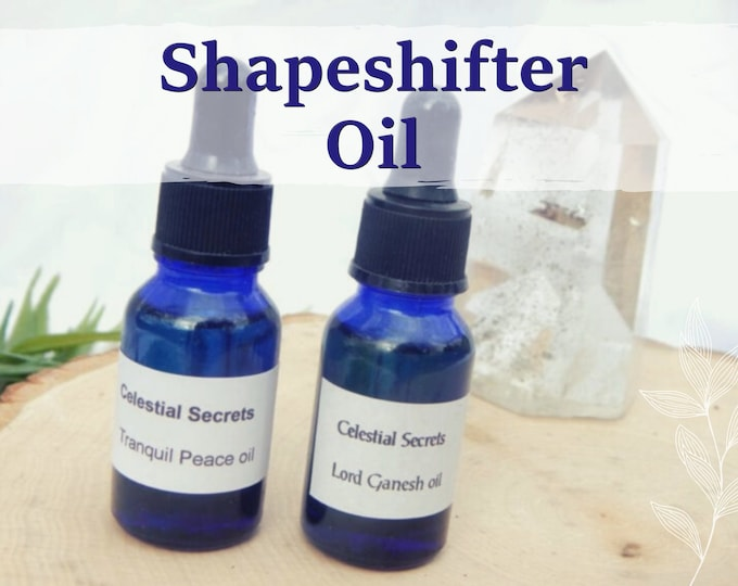MORRIGAN'S SHAPESHIFTER OIL 15ml - Goddess Morrigan, Transformation, shapeshifting for candles altar anointing - handmade with essential oil