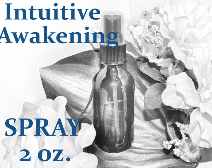 Intuitive Awakening SPRAY - 100% Hand-crafted with herbs and essential oils - Pagan Wicca Witchcraft