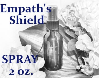 Empath's Shield SPRAY - 100% Hand-crafted with herbs and essential oils - Pagan Wicca Witchcraft